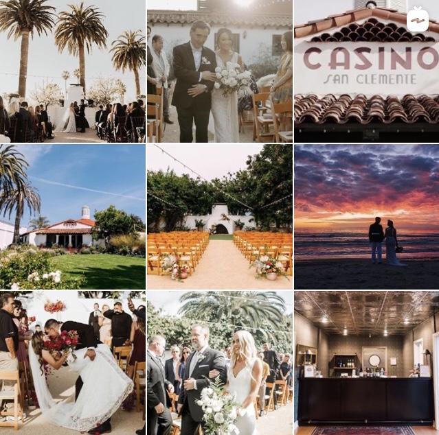 Casino San Clemente Wedding Venue