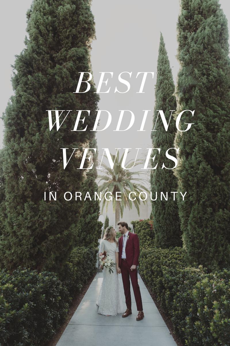 Best Orange County Wedding Venues - Natalie Michelle Photo Co