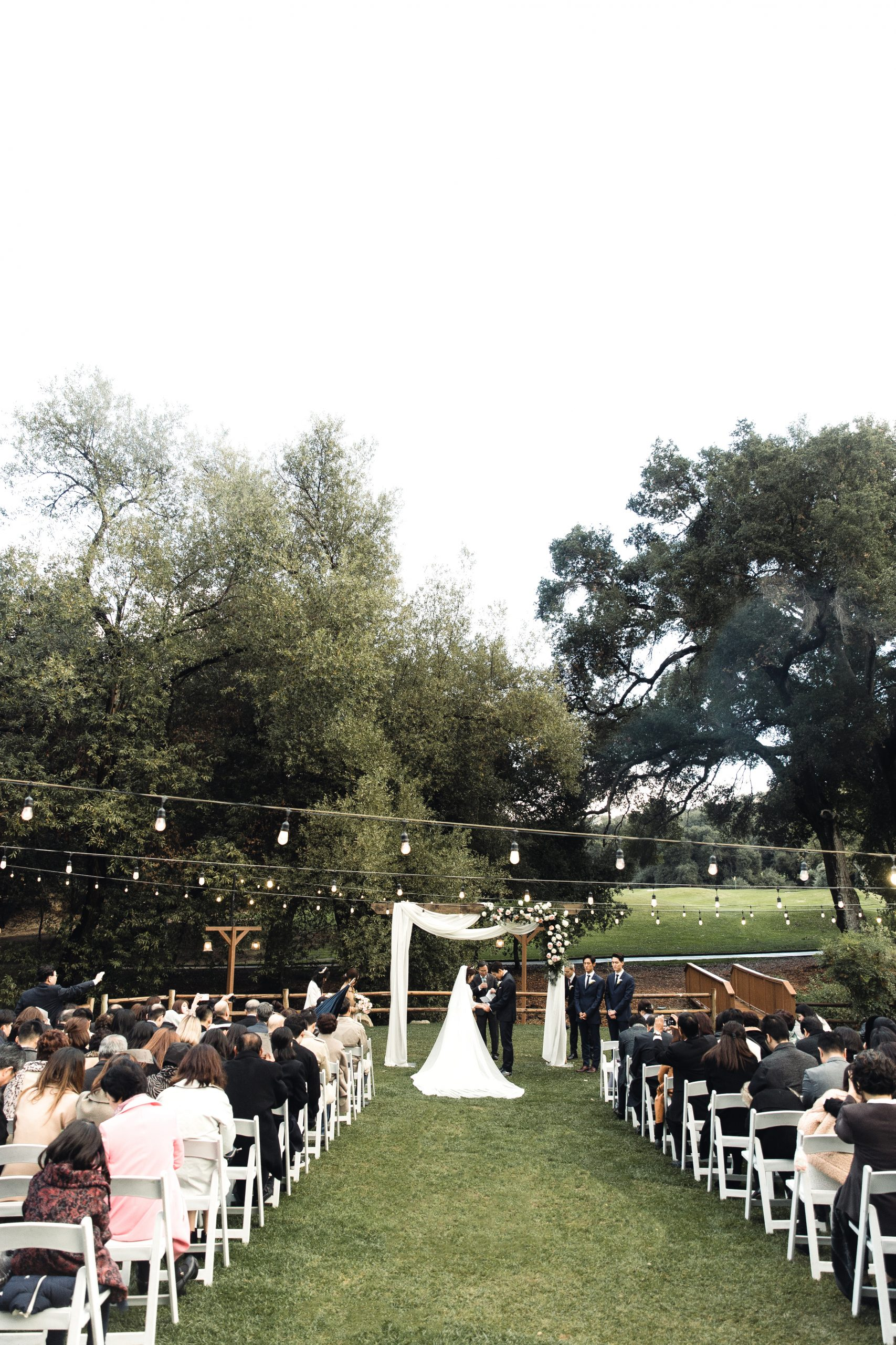 Fall Wedding at the Temecula Creek Inn Stone House