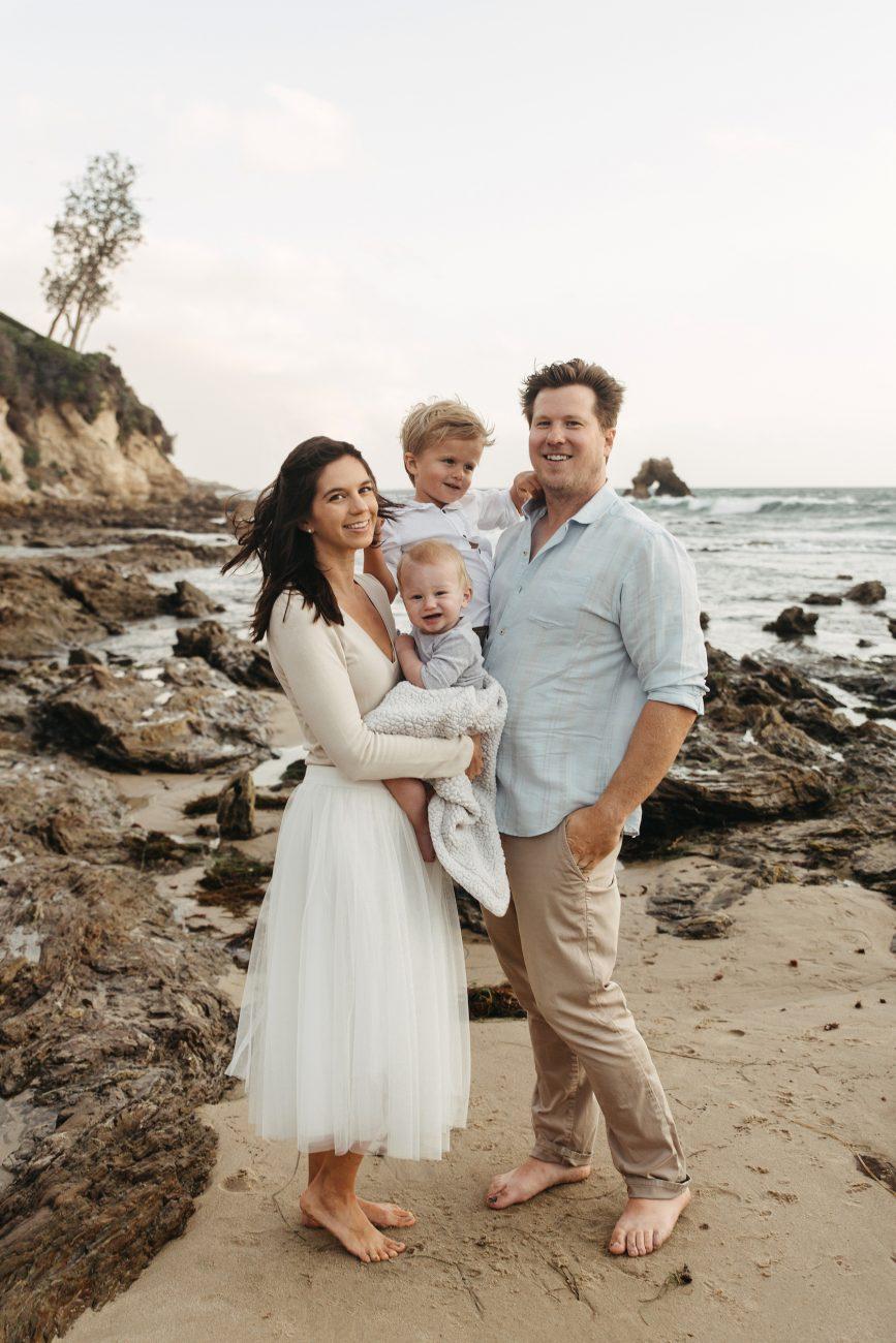Corona Del Mar Family Photos - Natalie Michelle Photo Co.